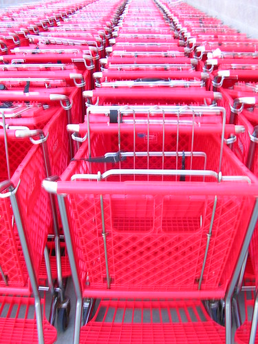 red shopping carts | by arfblat