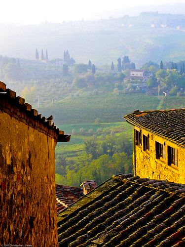 Bird's-eye view, San Gimignano | by Conlawprof