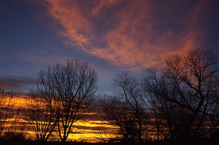 Sunrise, Thanksgiving Day, Colorado | by Thad Roan - Bridgepix