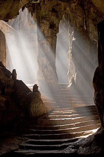 Khao Luang Cave Temple Entrance | by cfimages