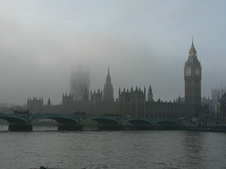 The Big Ben in fog | by yisris