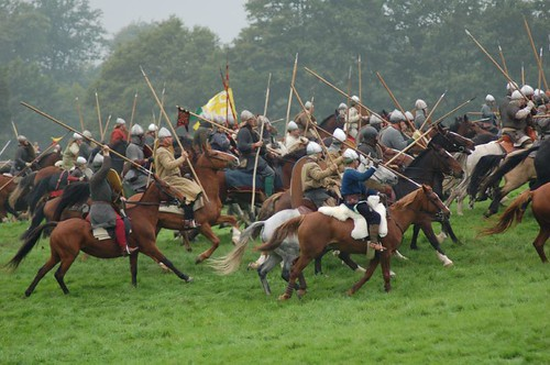 Battle of Hastings reenactment 2006