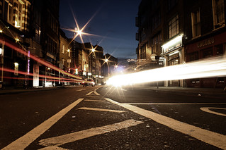 Old street at the speed of light | by fabbio