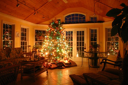 Christmas White House >> Christmas Warmth   I love how warm my parent's house feels, …   Flickr