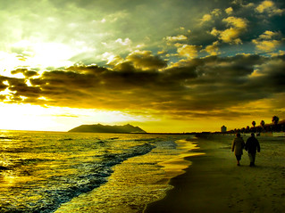 Walking to the Sunset... | by Giampaolo Macorig