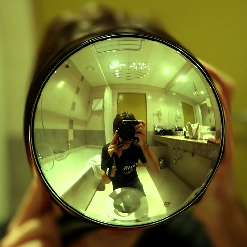 bathroom self portrait | by Markus Moning