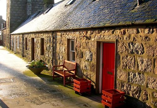Aberdeen, Fittie - fisherman's cottages | by Today is a good day