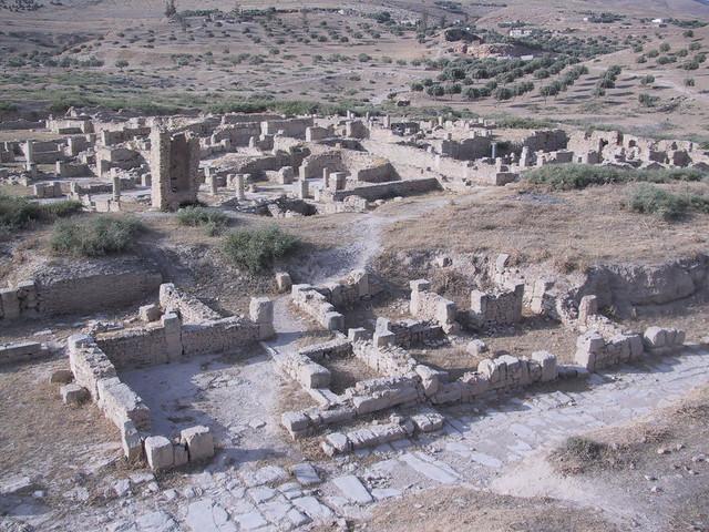 Bulla Regia Roman ruins, Tunisia