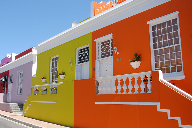Colourful Bo Kaap. Image: Christina, CC.