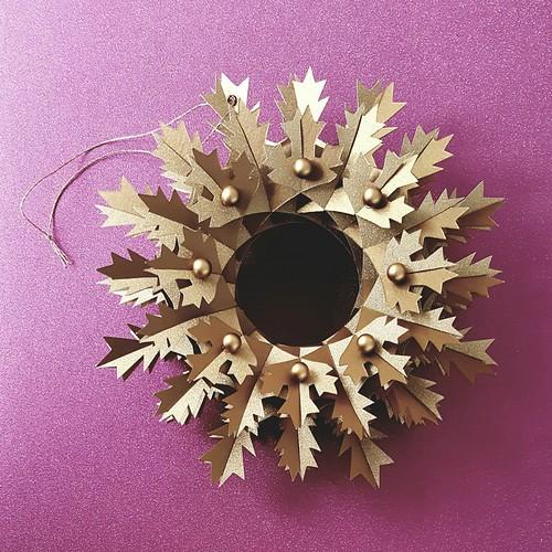 Gold Snowflake Torus