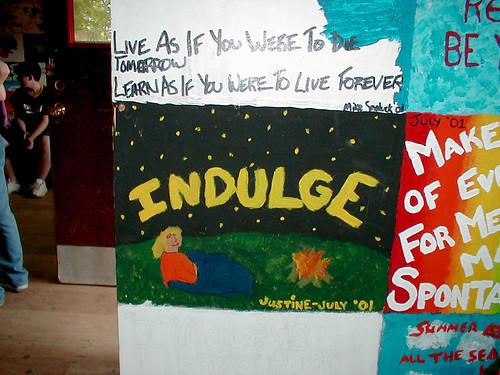 Ymca wanakita words to live by camp wanakita haliburton for Harris ymca summer camp