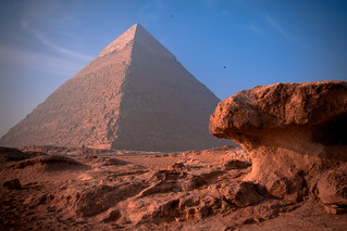 Khafre's Pyramid, Morning Light | by Foto Blitz Color