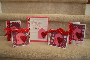 Valentine cards (handmade) | by fertree33~Jen Bowles