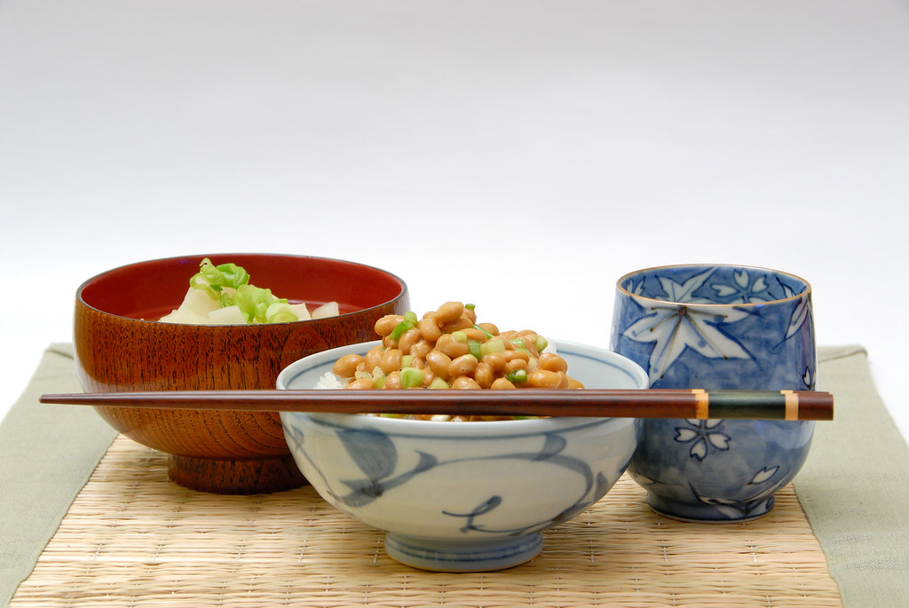 Natto and Miso Shiru