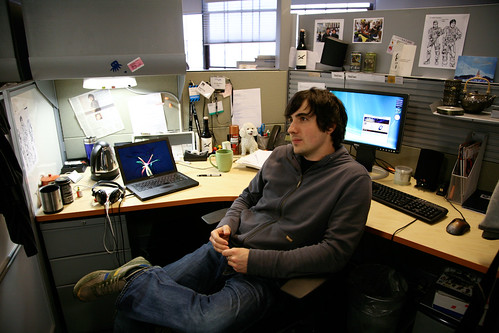 Kevin Rose Planning World Domination | by Scott Beale