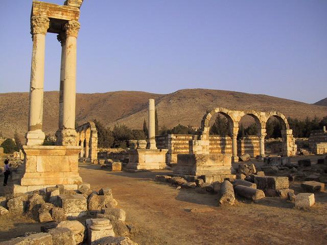 Aanjar ruins, Lebanon