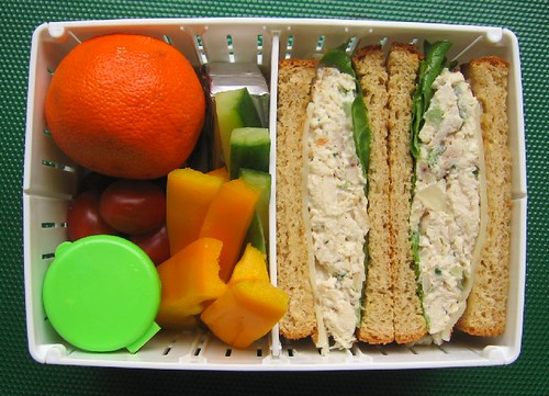 Lunch in collapsible sandwich case | by Biggie*