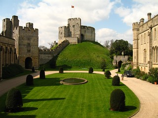 Arundel Castle - motte | by intrepid_luke