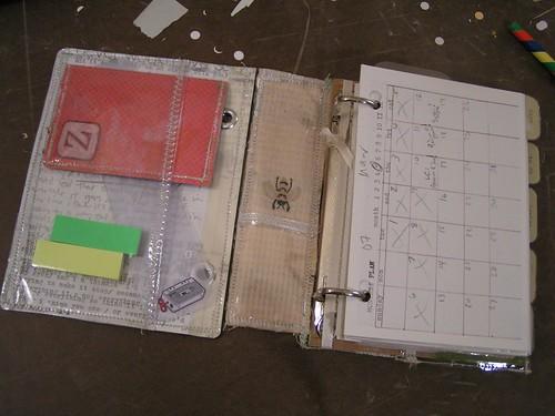 Homemade Calendar Cover : Organizer binder tutorial ahhh design series