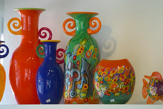 Art glass at spanish village in balboa park san diego ca for Michaels arts and crafts san diego