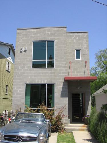 Block house 614 irwin st ne atlanta modern homes tour for Modern house 3d tour