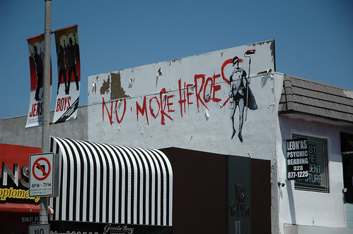 Banksy on Melrose | by atomicmonk