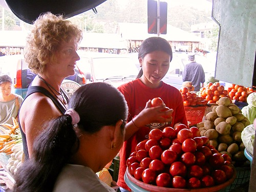 Bartering at the market | by Kai Hendry