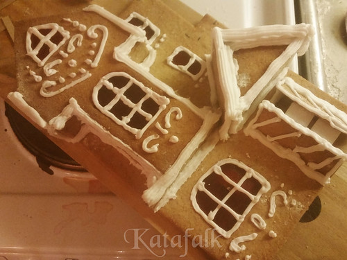 The 2016 gingerbread house - 5