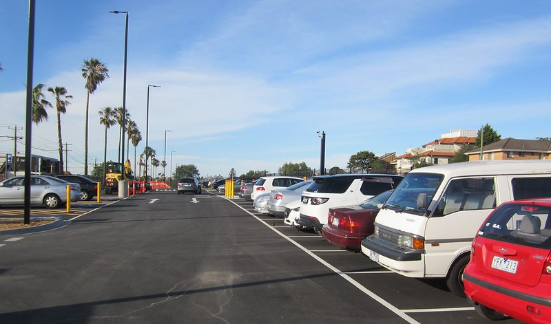 Bentleigh station new car park