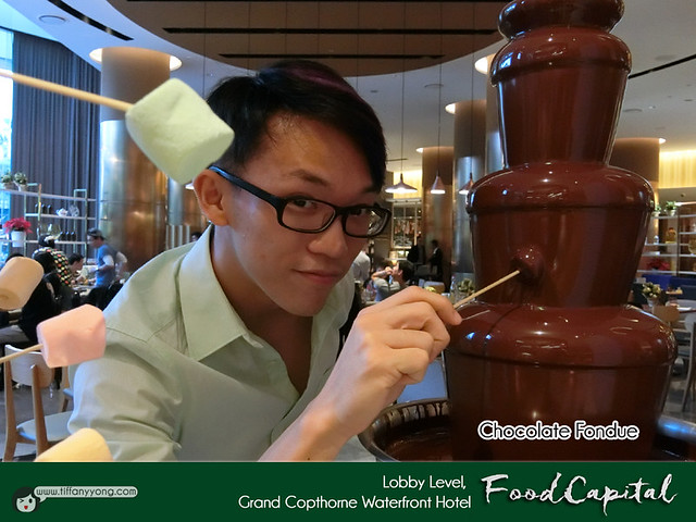 Grand Copthorne Waterfront Food Capital Chocolate Fondue Peps