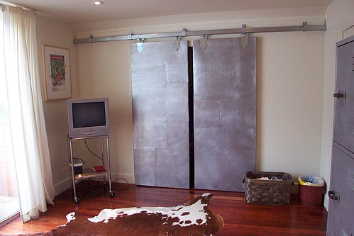 Master Bedroom Closet Irregular Aluminum Panels Riveted On Flickr