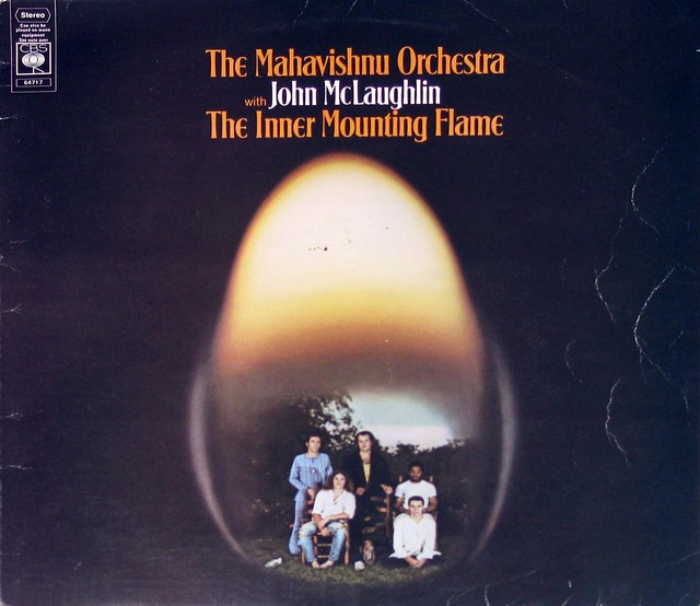 "Mahavishnu Orchestra with John McLaughlin The Inner Mounting Flame 12"" vinyl LP"