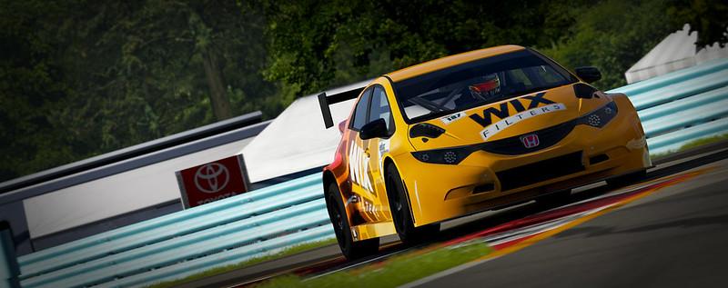 VTCC Spec Series 10 - #5 Zengo Motorsports Honda Civic WTCC 31749184301_b4bc2e325a_c