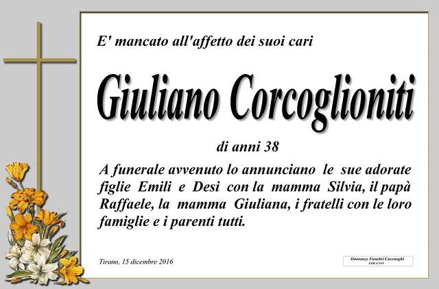 Corcoglioniti Giuliano