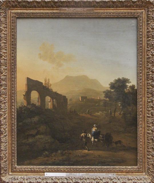 Italian Landscape with Ruins, Jan van der Meer III