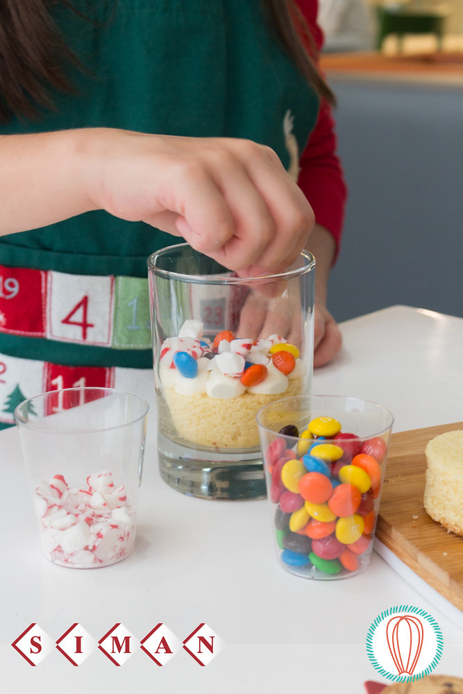 Little Foodies: Christmas Glass Cakes