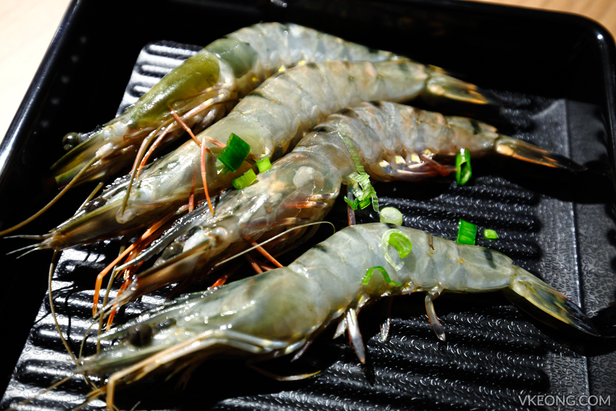 KG Korean Charcoal BBQ Buffet Prawns
