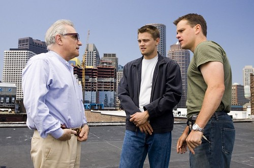 The Departed - backstage 1