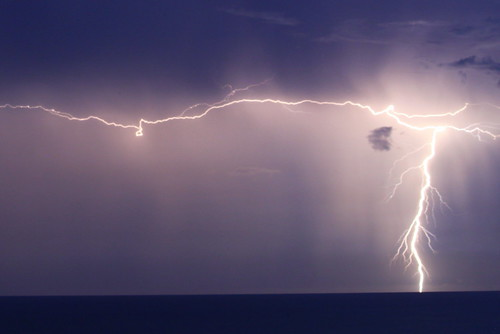 Lightning Storm over the Gulf of Mexico