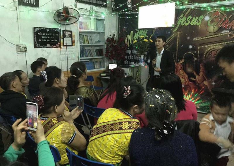Giang sinh 2016 Hai Phong (1)