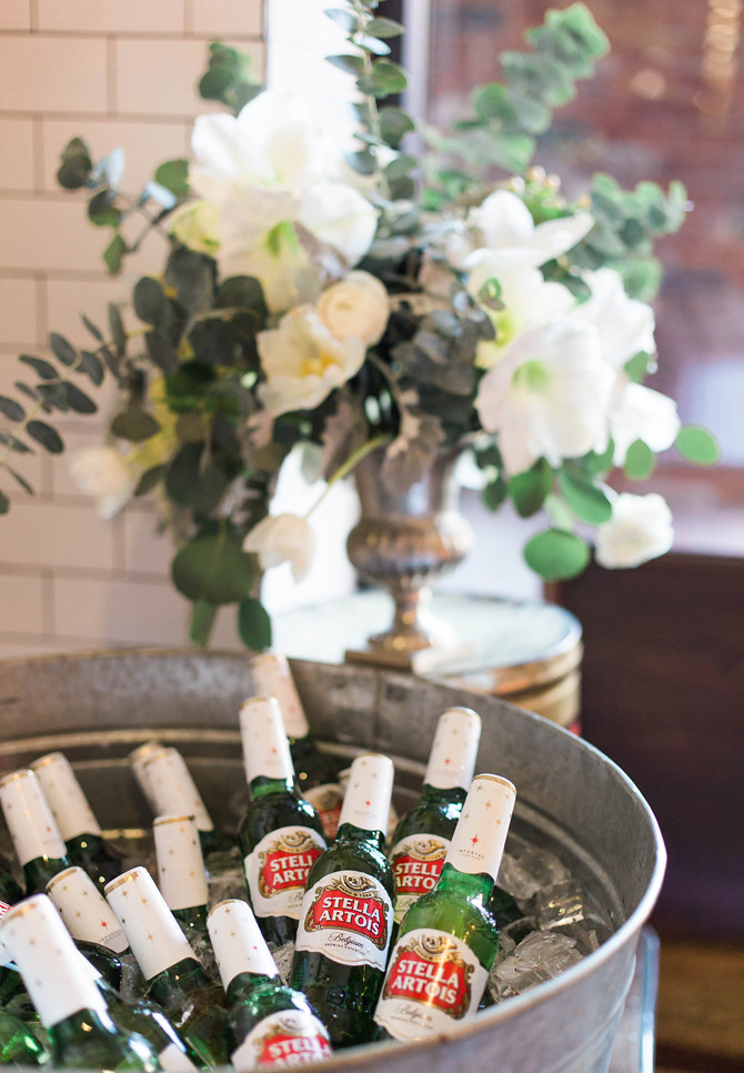 classic winter holiday party floral arrangements
