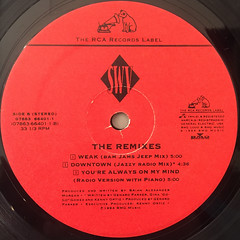 SWV:THE REMIXES(LABEL SIDE-B)