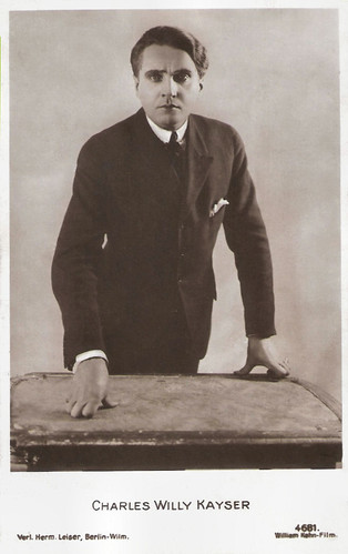 Charles Willy Kaiser in Dämon der Welt (1919)