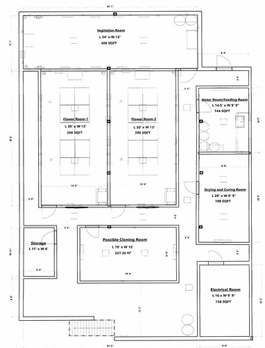 Greenleaf Wellness Basement Plan