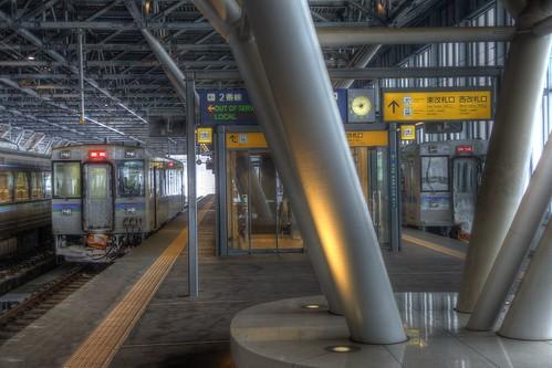 Asahikawa Station on JAN 02, 2016 (16)