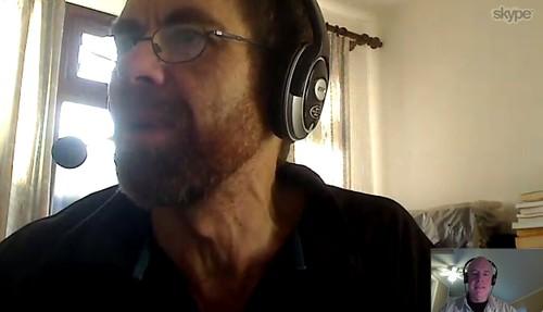 Ian Guest interviews me