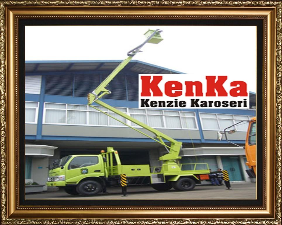 Karoseri Truck Skylift - 1