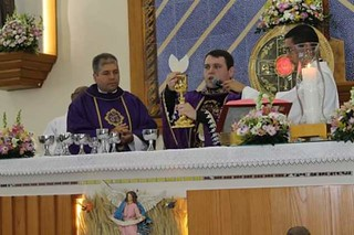 20 12 2016 Apresentação de Padre Gabriel - novo vigário de Santo Antonio