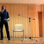 Выступление в ПРЛ 2014, поэт Александр Меркушев