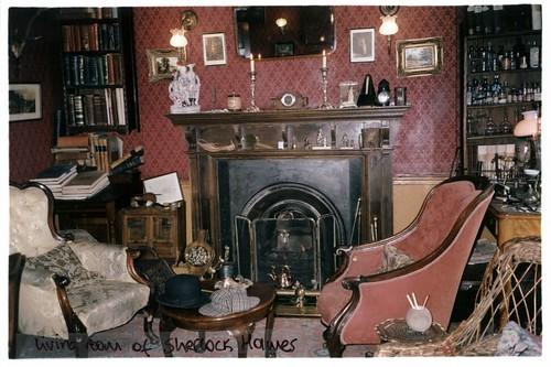Sherlock Living Room Skkull